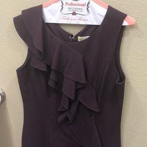 Gorgeous Calvin Klein purple dress sz 8